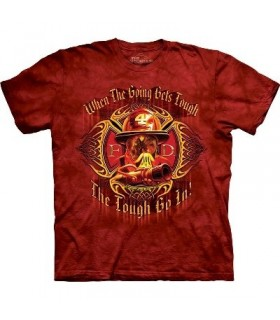 When Goin' Gets Tough - Firemen Shirt