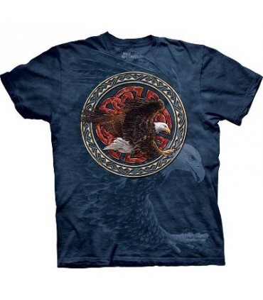 Tribal Eagle - Birds T Shirt by the Mountain