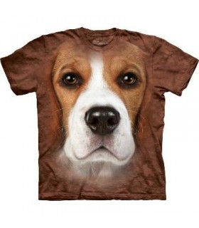 Beagle Face - Dogs T Shirts by the Mountain