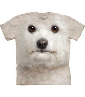 T-Shirt Bichon Frisé par The Mountain