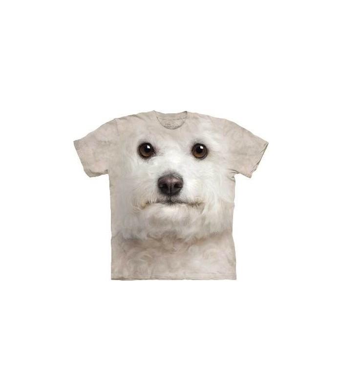 T-Shirt Bichon Frisé par The Mountain