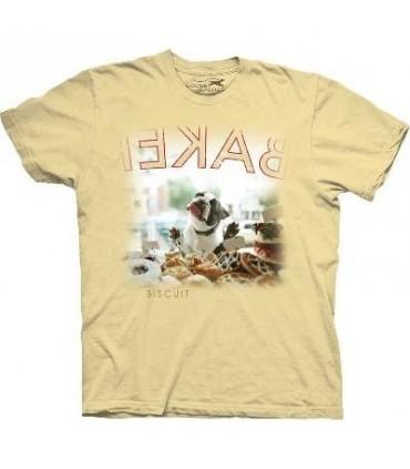 T-Shirt Biscuits pour chien par The Mountain
