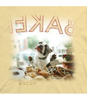 Biscuit - Dogs T Shirt by the Mountain