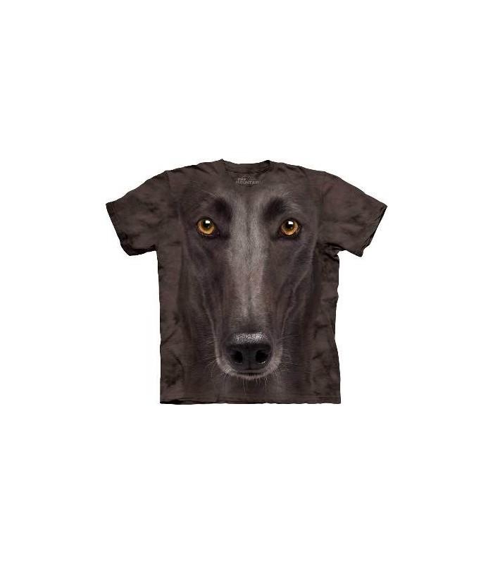T-Shirt Lévrier noir par The Mountain
