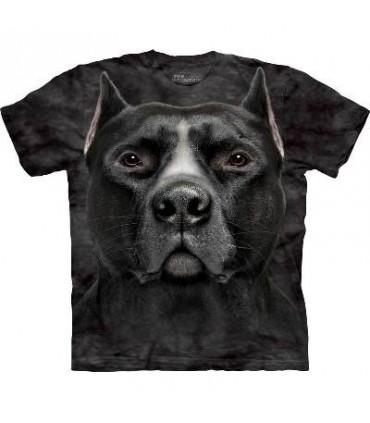 T-Shirt Pitbull Noir par The Mountain