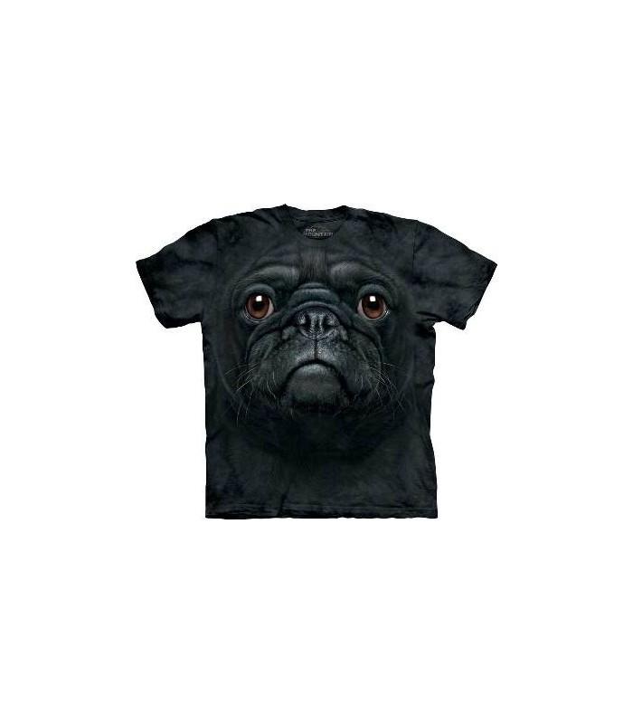 T-Shirt Carlin Noir par The Mountain