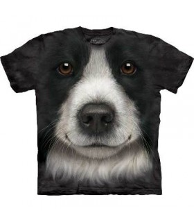 T-Shirt Border Collie par The Mountain
