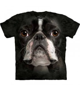 T-Shirt Boston Terrier par The Mountain