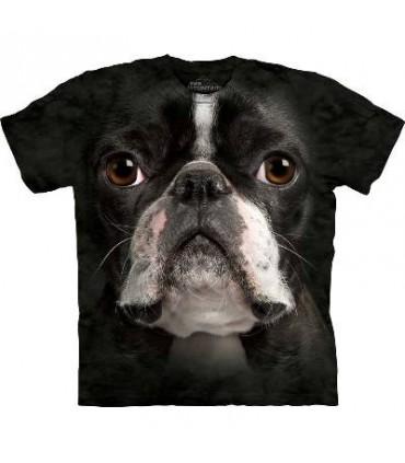 T-Shirt Boston Terrier par The Mountain