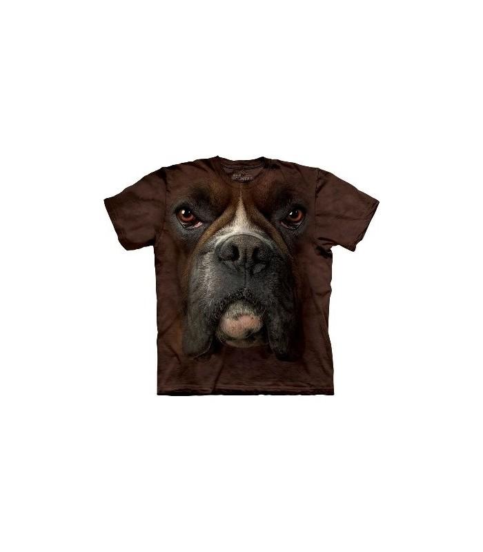 T-Shirt Boxer par The Mountain