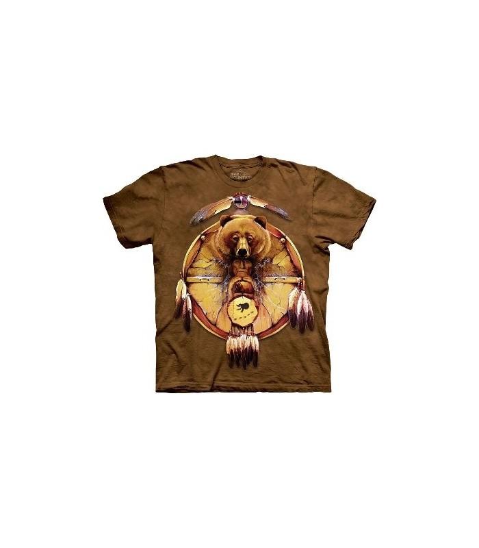 T-Shirt Bouclier Ours par The Mountain