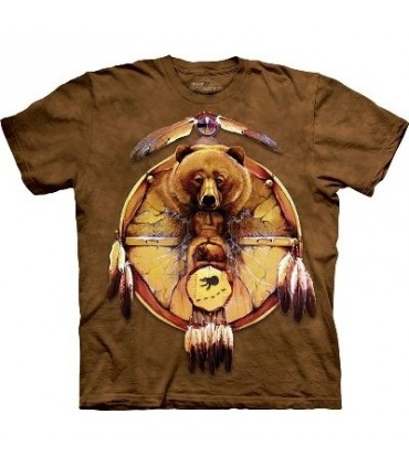 Bear Shield - Indians Shirt Mountain