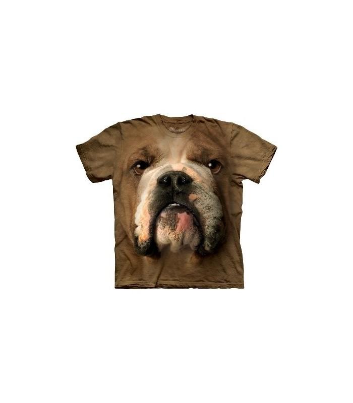 T-Shirt Bouledogue par The Mountain