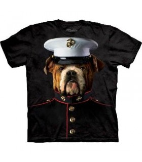 Bouledogue Marine - T-shirt Manimal par The Mountain