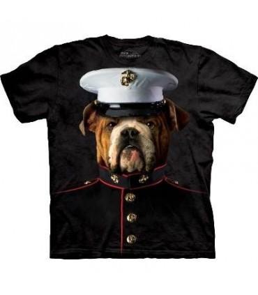Bulldog Marine - Manimals T Shirt by the Mountain