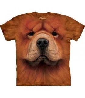 T-Shirt Chow Chow par The Mountain