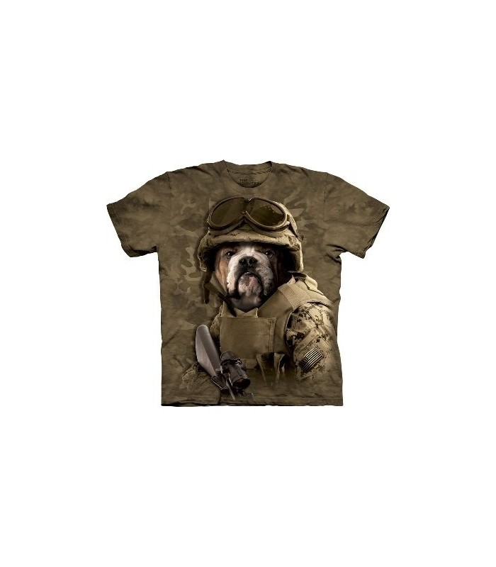 Combat Sam - Manimals T Shirt by the Mountain