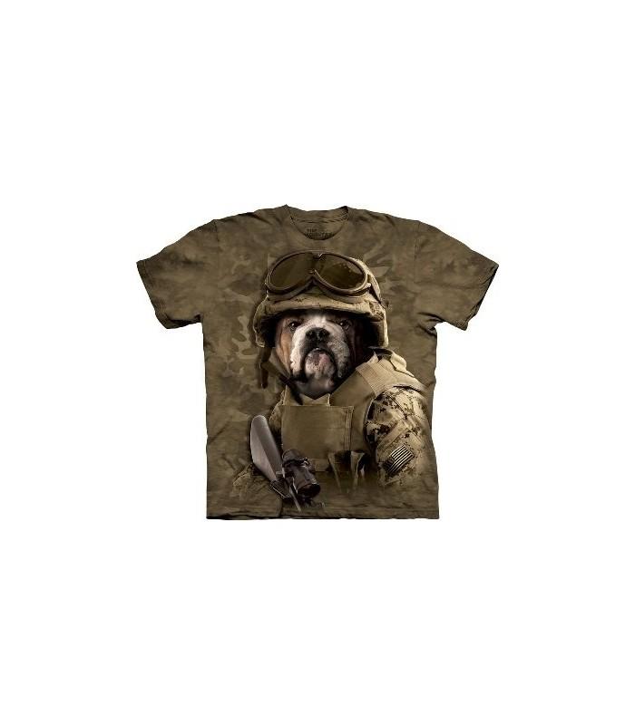 Sam chien de combat - T-shirt Manimal par The Mountain