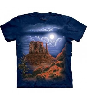 T-Shirt Désert Nocturne par The Mountain