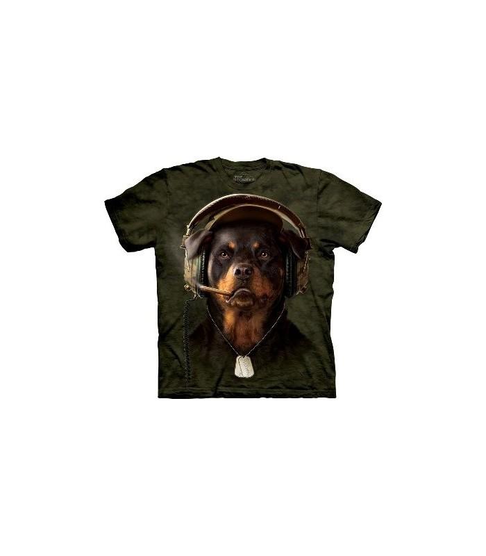 T-Shirt DJ Sarge par The Mountain