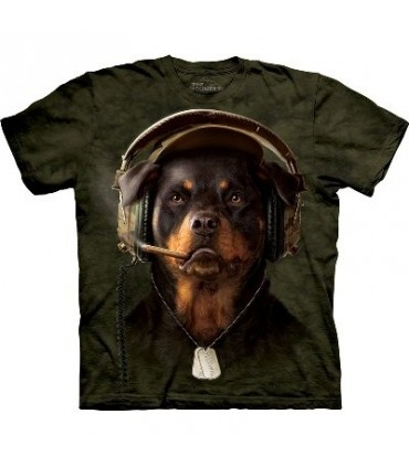 DJ Sarge - Dogs T Shirt by the Mountain