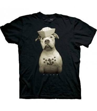 T-Shirt Fluck par The Mountain