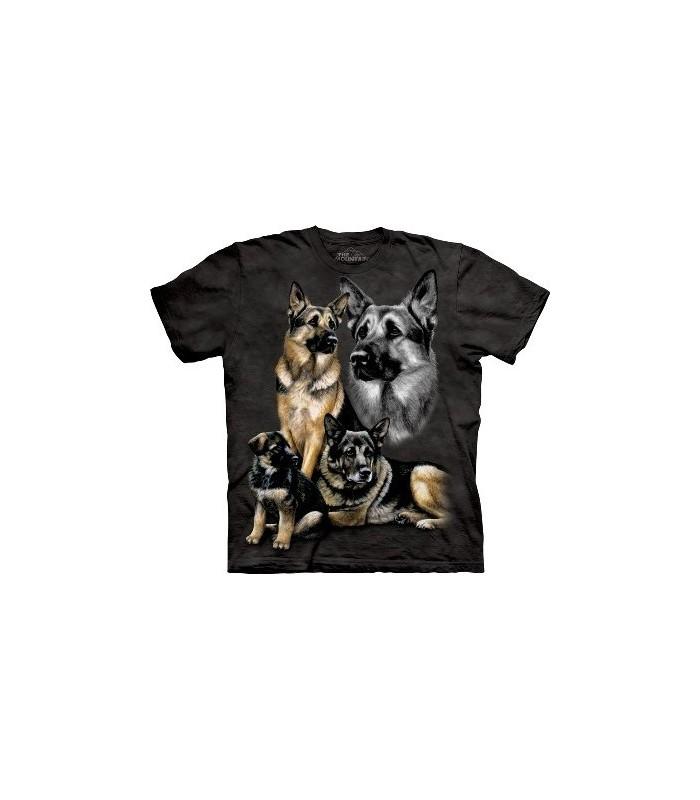 German Shepherd - Dogs Shirt Mountain