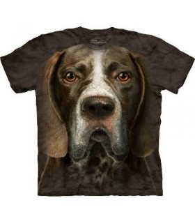 T-Shirt Braque Allemand par The Mountain