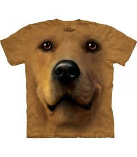 T-Shirt Golden Retriever par The Mountain