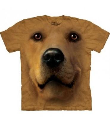 T-Shirt Golden Retriever par The Mountain