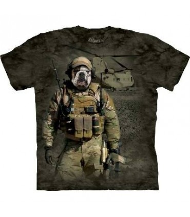 JTAC Wardog - Military Dogs T Shirt by the Mountain