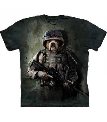 Marine Sam - Dog T Shirt by The Mountain