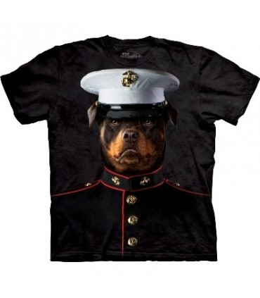 Marine Sarge - Dogs T Shirt by the Mountain