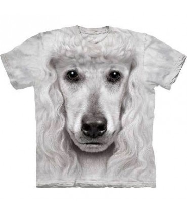Poodle Face - Dogs T Shirt by the Mountain