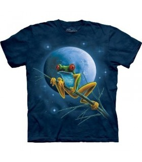 T-Shirt Grenouille Céleste par The Mountain