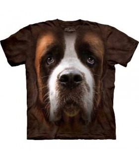 T-Shirt Saint Bernard par The Mountain