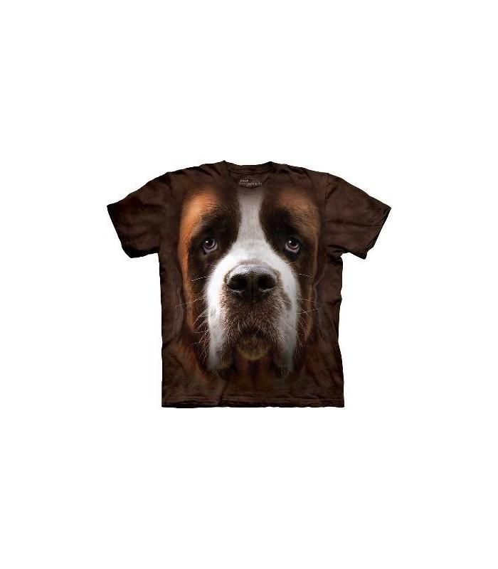 T-Shirt Saint Bernard par The Mountain