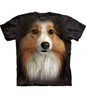 T-Shirt Sheltie (Shetland) par The Mountain