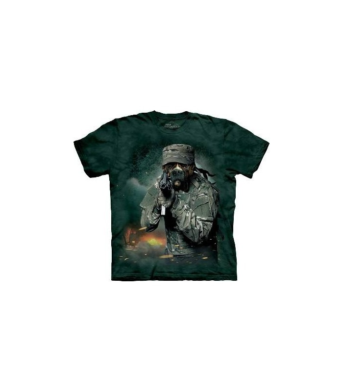 War Rocky - Dog Military T Shirt by the Mountain