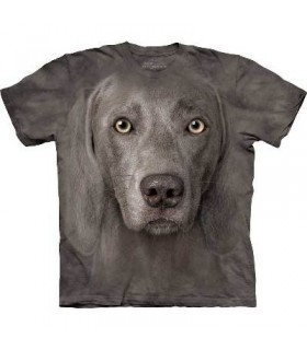 Weimaraner - Dogs T Shirt by the Mountain