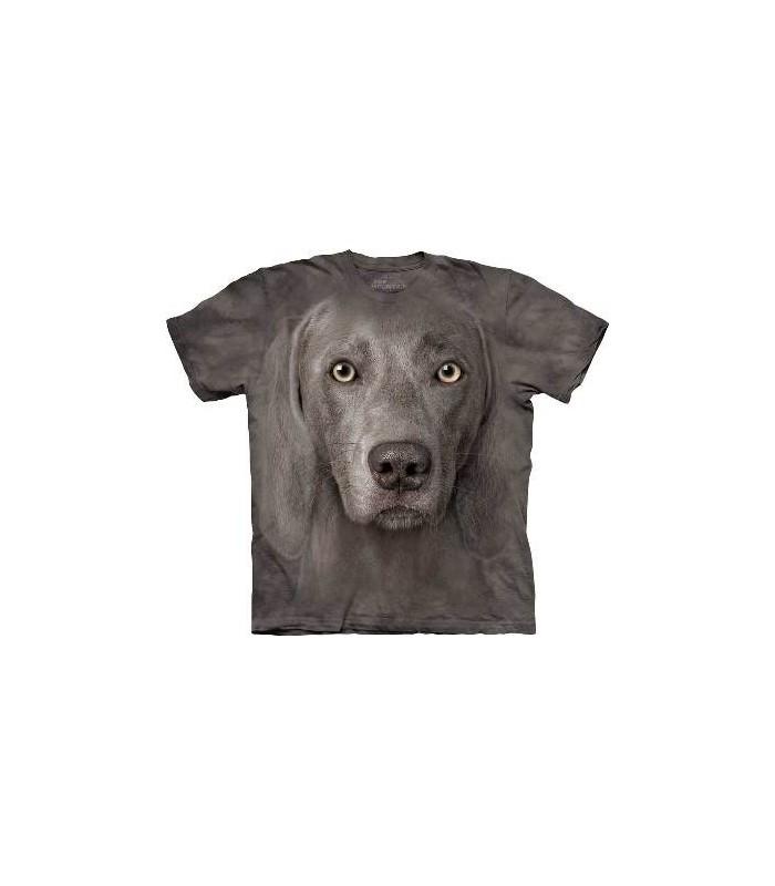 T-Shirt Braque de Weimar par The Mountain