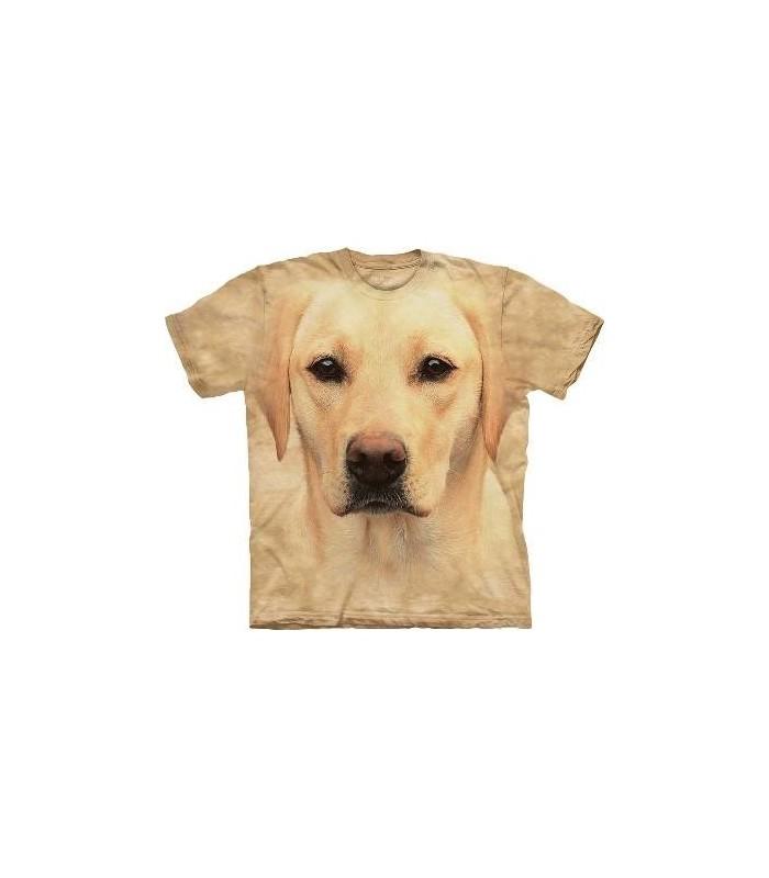 T-Shirt Labrador Jaune par The Mountain