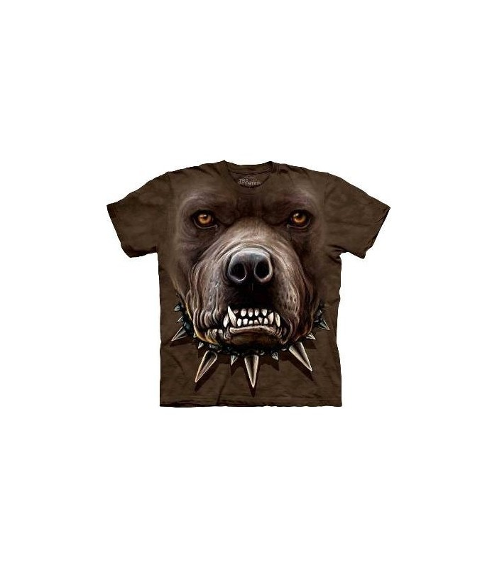 T-Shirt Pitbull Zombie par The Mountain