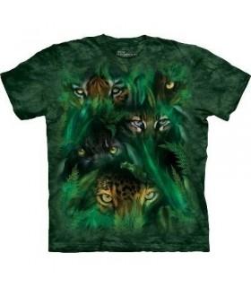 T-Shirt les Yeux de la Jungle par The Mountain