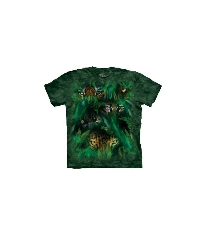 Jungle Eyes - Big Cats T Shirt by the Mountain