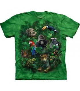 Jungle Friends - Zoo Animals T Shirt by the Mountain