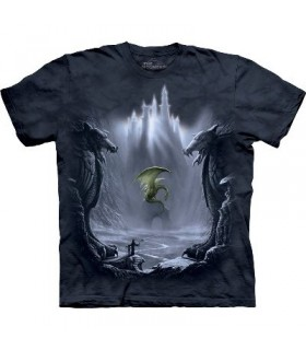 La vallée perdue - T-shirt Dragon The Mountain