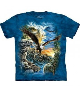 Find 11 Eagles - Bird T Shirt Mountain
