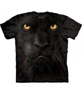 T-Shirt Panthère Noire par The Mountain