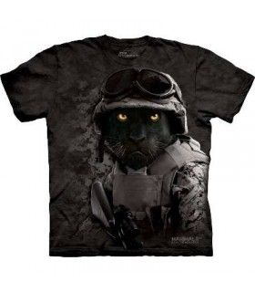 Combat Diablo - Military Big Cats T Shirt by The Moutain
